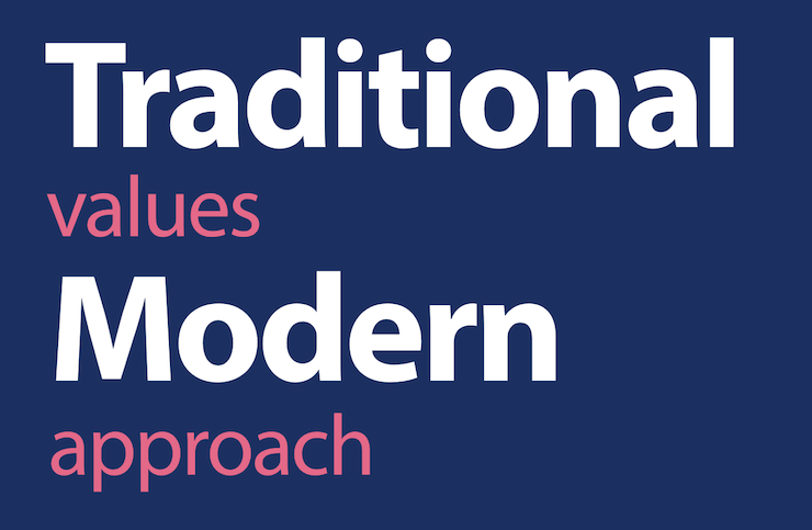 Traditional and Moderns